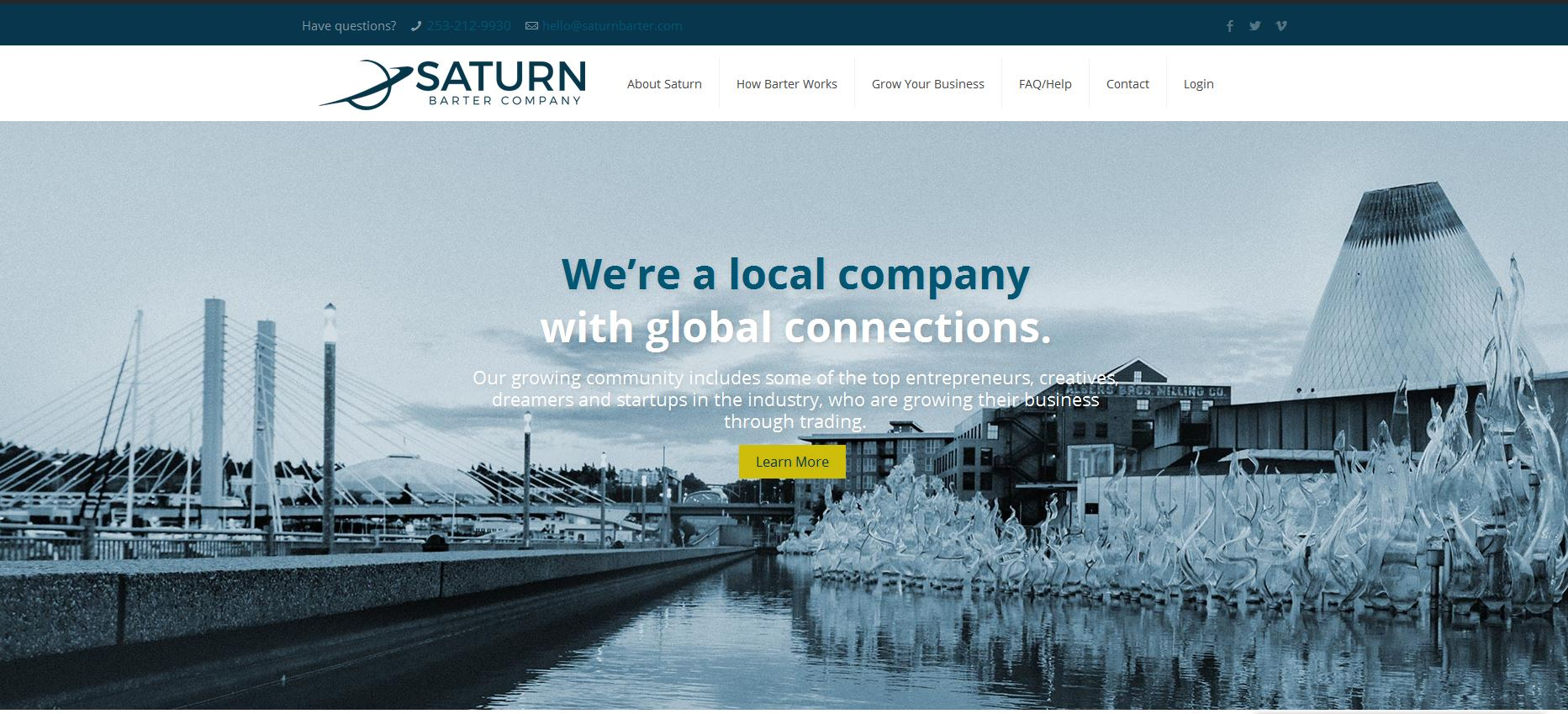trouble logging in - Saturn Barter Company